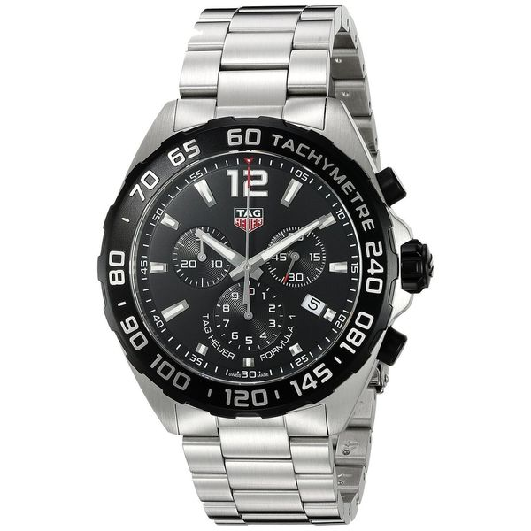ed10e1a67a0 Shop Tag Heuer Men's CAZ1010.BA0842 'Formula One' Chronograph ...