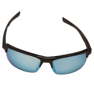 Revo RE 4066 01 BL Crux N Sunglasses with Black Frame and Blue Water Serilium Lens