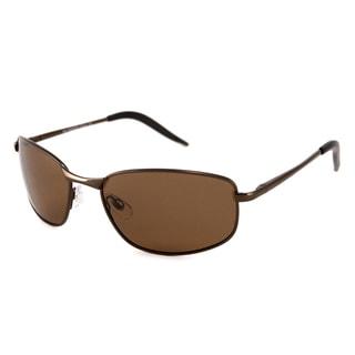 UrbanSpecs FW2032S-BRZ Square Brown Sunglasses