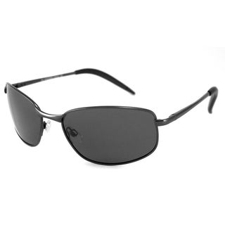 UrbanSpecs FW2032S-GUN Square Grey Sunglasses