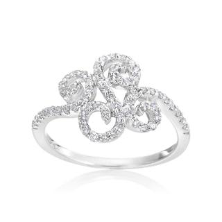 SummerRose 14k White Gold 2/5ct TDW Diamond Ring