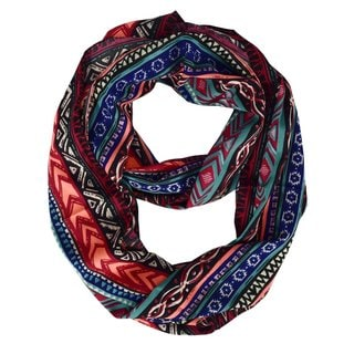 Peach Couture Women's Summer Tribal Print Scarf
