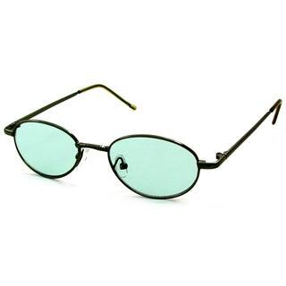 UrbanSpecs B23003-green Round Green Sunglasses
