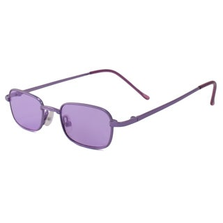 UrbanSpecs B23011-PPL Square Purple Sunglasses