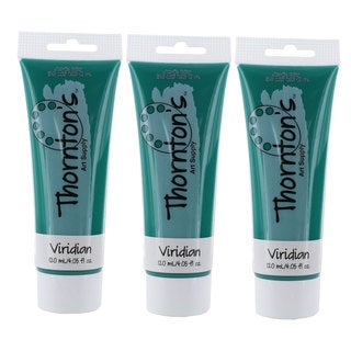 Thornton's Art Supply Viridian Green Acrylic 4-ounce Paint Tube