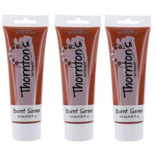 Thornton's Art Supply Burnt Sienna 120ml (4.0oz) Acrylic Paint Tube