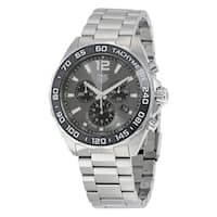 Tag Heuer Men's  'Formula One' Chronograph Stainless Steel Watch