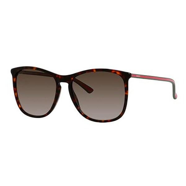 f5fd8f19da4 Shop Gucci GG3767 S-0GY0 Square Brown Mirror Sunglasses - Free Shipping  Today - Overstock - 12486009