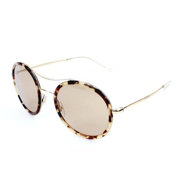 0dc94da3a6487 Gucci GG 4252NS H7UXS Havana Gold Frame Brown Lens Unisex Sunglasses