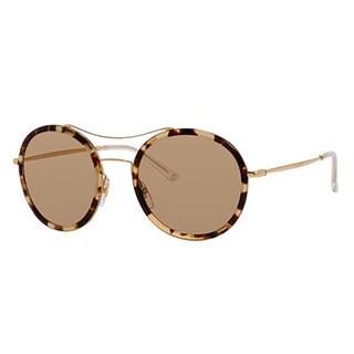 Gucci GG4252/N/S-0H7U Round Brown Mirror Sunglasses