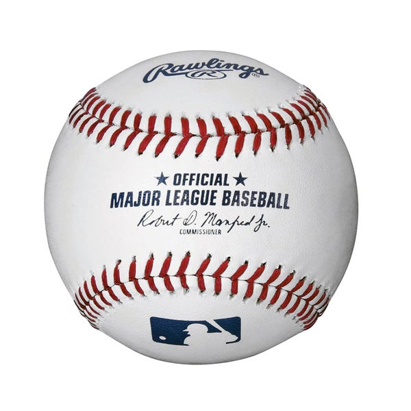 Rawlings Official Major League Baseball. Opens flyout.
