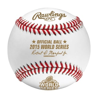 Creative Sports Rawlings Major League Official 2015 World Series Baseball