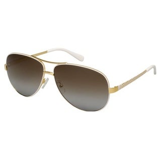 Tory Burch TY6035-301913 Aviator Brown Gradient Sunglasses