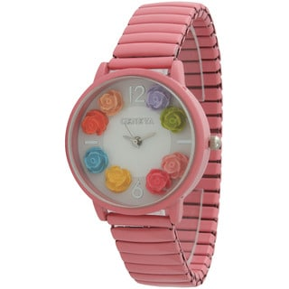 Olivia Pratt Women's Colorful Roses Watch