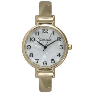Link to Olivia Pratt Women's Goldtone Stainless Steel Bangle Watch Similar Items in Women's Watches