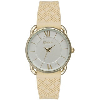 Olivia Pratt Women's Chic Silicone Band Watch