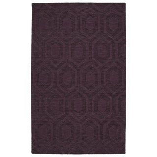 Trends Purple Loft Wool Rug (8'0 x 11'0)