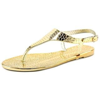 Cape Robbin Women's Arsenio-MB-1 Gold Synthetic Sandals