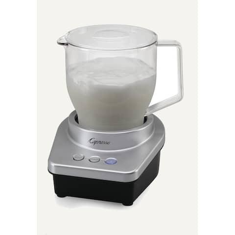 Capresso Black/Silver Milk Frother