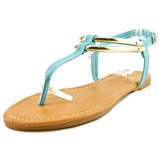 Cape Robbin Women's Aurea-ST-4 Faux Leather Sandals