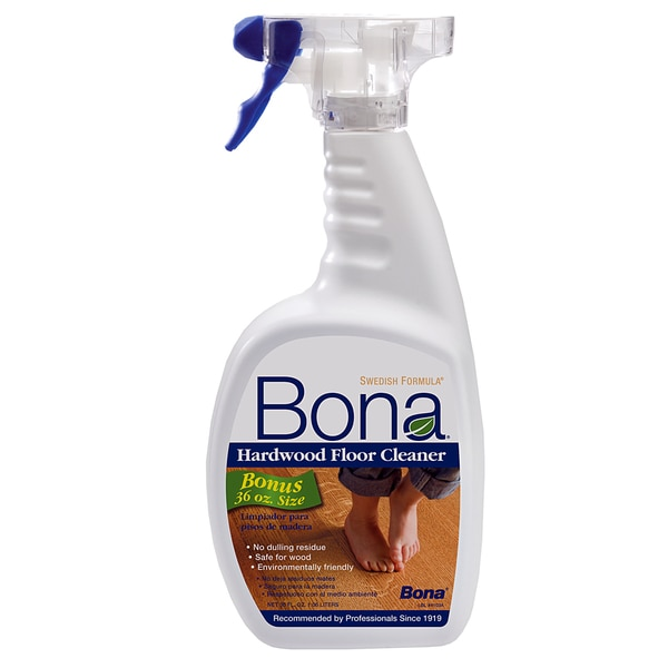 Shop Bona Wm700059001 36 Oz Hardwood Floor Spray Cleaner Free