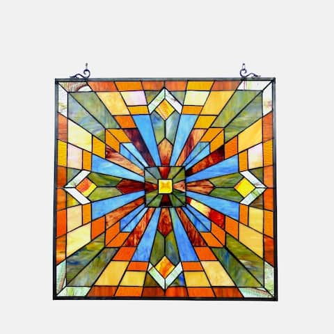 Chloe Tiffany Style Mission Design Window Panel/Suncatcher