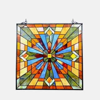 ae1a4ad4f7d509 Buy Stained Glass Panels Online at Overstock