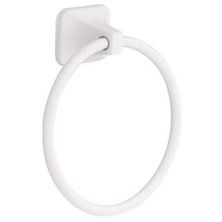 Franklin Brass D2416W White Futura Towel Ring