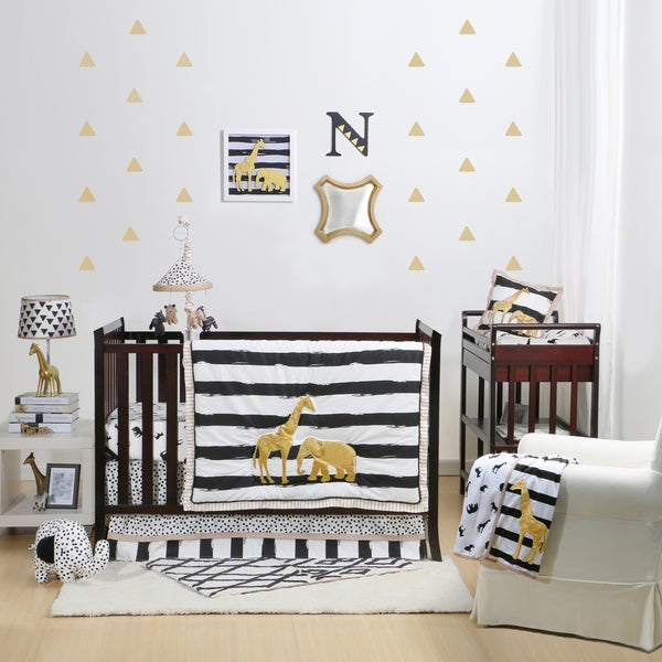 Crib Bedding Sets Gold