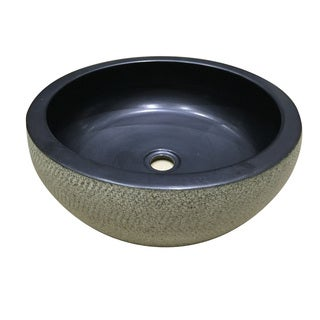 Legion Furniture Charcoal Porcelain Sink Bowl