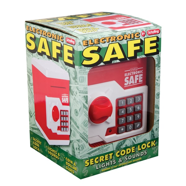 Schylling Plastic Electronic Safe