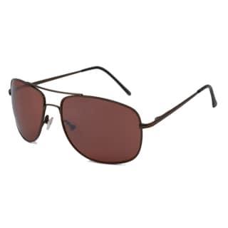 UrbanSpecs LR99693-BRNZ Square Bronze Sunglasses