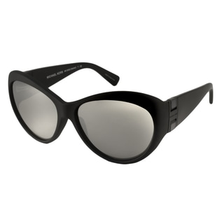 Michael Kors MK2002-30226g Oversized Gray with Silver Mirror Sunglasses