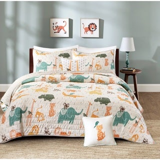 INK+IVY Kids Jacala Multi Cotton Coverlet Set