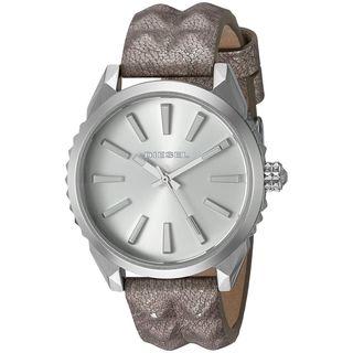 Diesel Women's DZ5515 'Nuki' Grey Leather Watch