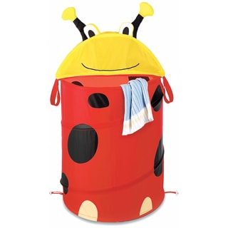 Whitmor 6256-3852 Kids Ladybug Hamper