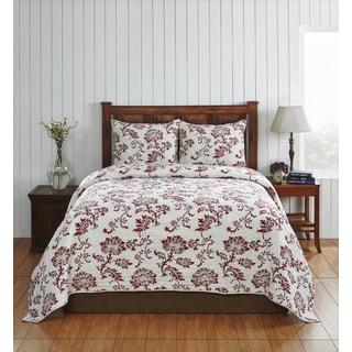 Cot de Rhone Cotton Floral Quilt