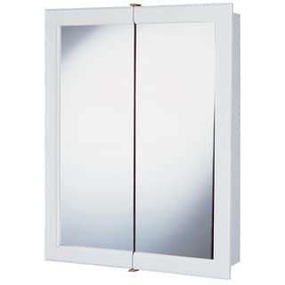 "Hardware House 419218 24"" White Aspen Medicine Cabinet"