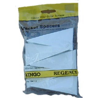 Raingo RW112 White Gutter Bracket Spacer 5 Piece