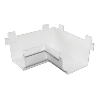 Repla K AW103AK White Inside 90-degree Gutter Corner