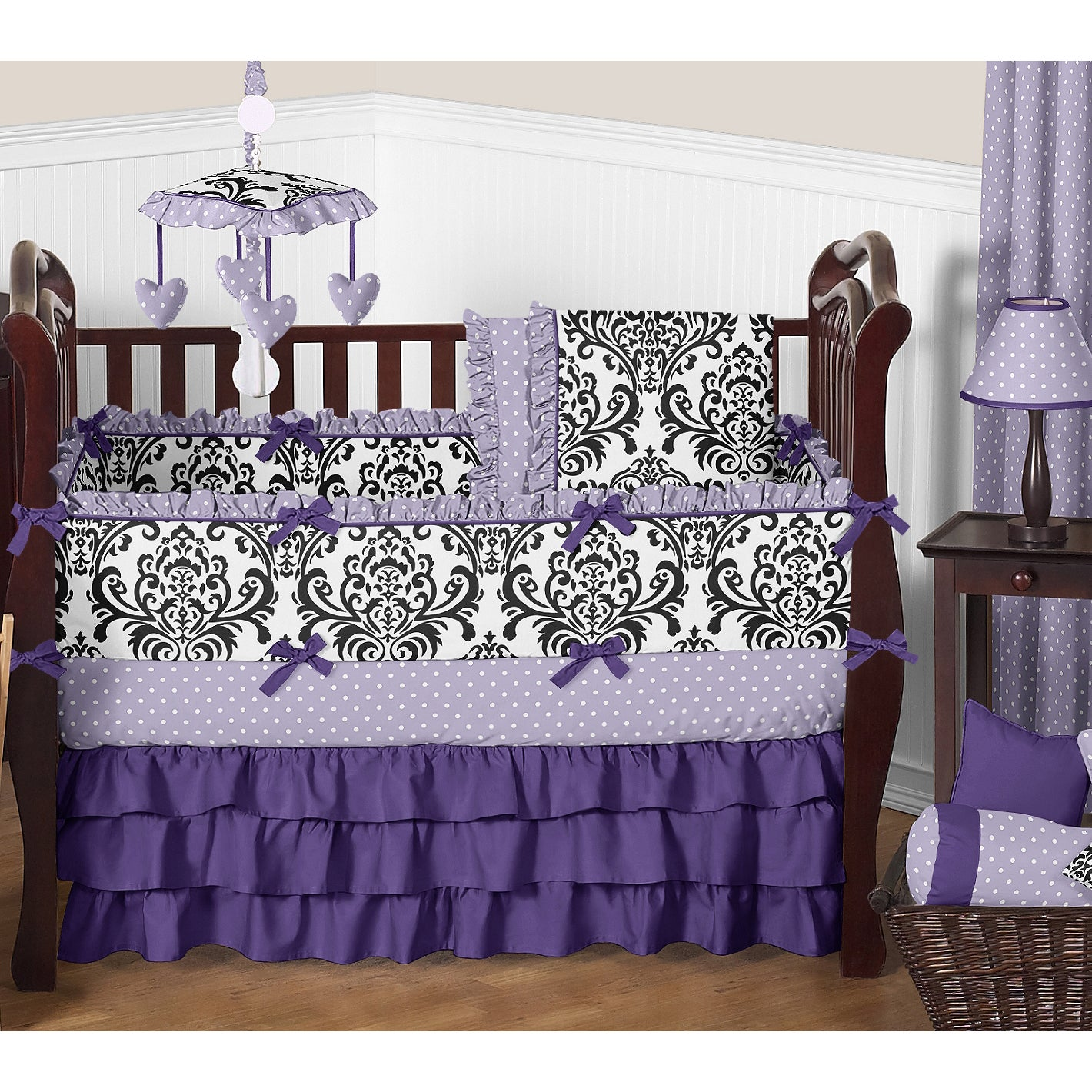 Sweet Jojo Designs 9 Piece Crib Bedding Set For The Sloane Collection Overstock 12488971