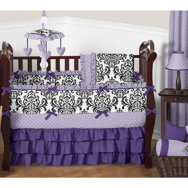 Sweet Jojo Designs 9-piece Crib Bedding Set for the Sloane Collection