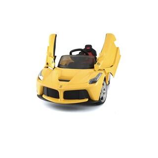 Best Ride On Cars Yellow 12V Ferrari