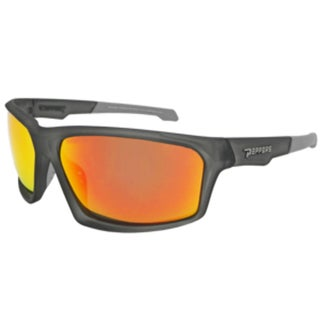 Peppers MP523-45 Sport Polarized Brown with Fire Red Mirror Sunglasses