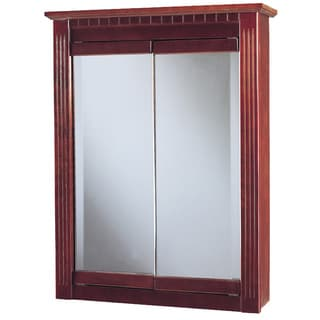"Hardware House 419259 24"" Cherry Ambrosia Medicine Cabinet"
