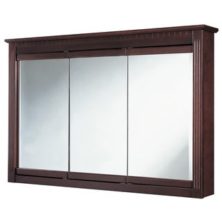 "Hardware House 419283 48"" Cherry Ambriosia Medicine Cabinet"