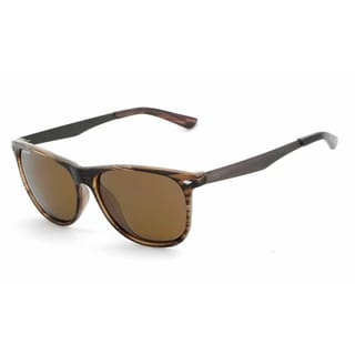 Peppers MP558-5 Square Brown Polarized Sunglasses