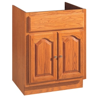 """Hardware House 419689 24"""" X 21"""" X 30"""" 2 Door Oak Vanity"""