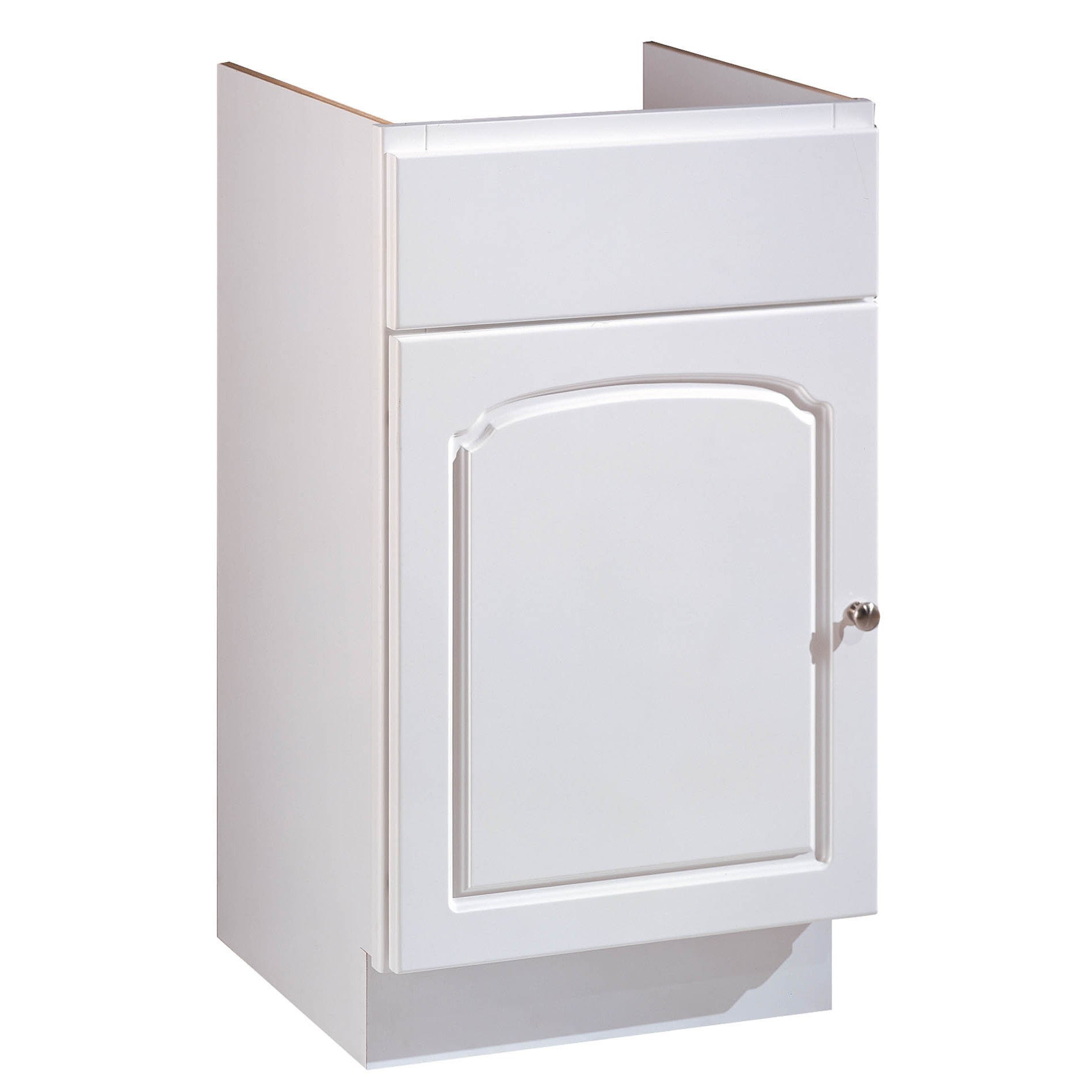 "Hardware House 419754 18"" X 16"" White Aspen One Door Vani..."