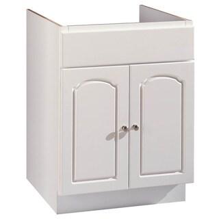 "Hardware House 419838 24"" X 21"" White Aspen Two Door Vanity"
